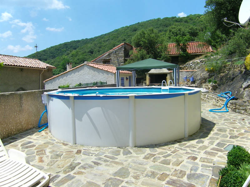 Piscine hors sol fer for Piscine hors sol imposable