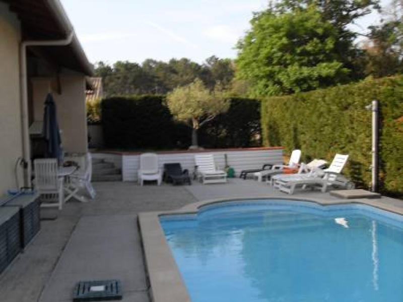 Locsud maison avec piscine chauffee labenne for Camping a biarritz avec piscine
