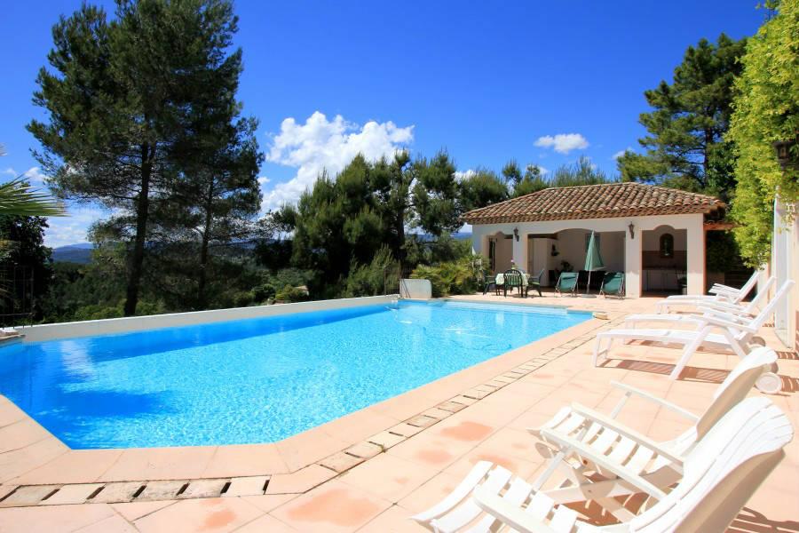Locsud bastide de standing 10 terrain piscine priv e et pool hou - Pool house provencal ...