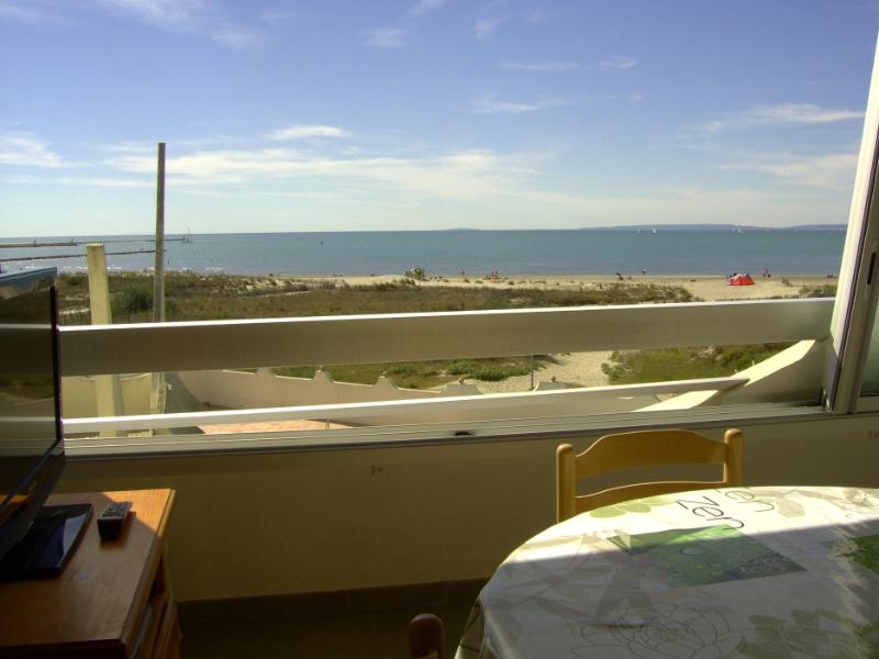 Face et vue mer port Camargue plage sud 2e etage