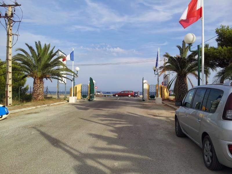 Location mobil home au bord de la plage